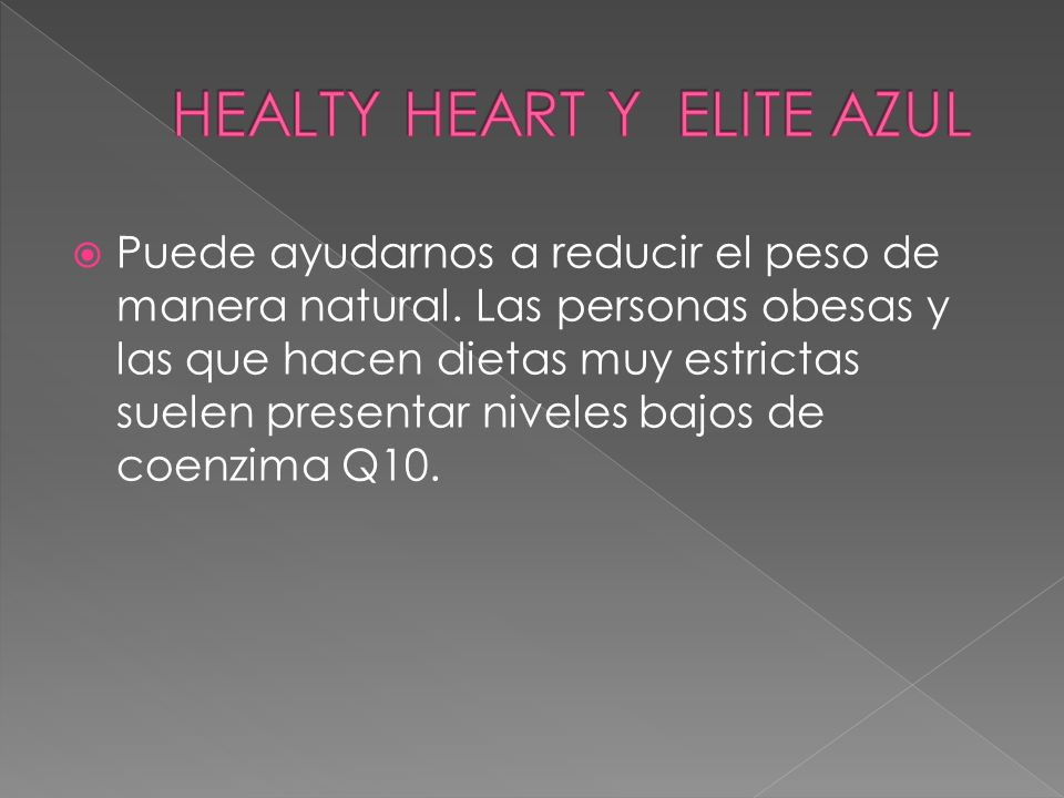 HEALTY HEART Y ELITE AZUL