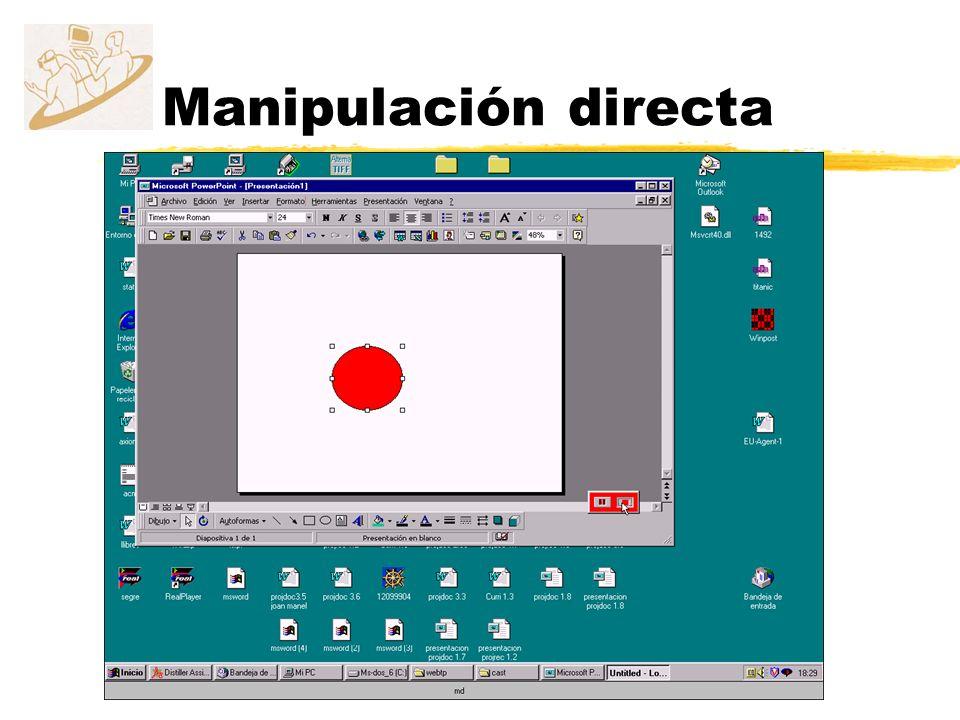Manipulación directa