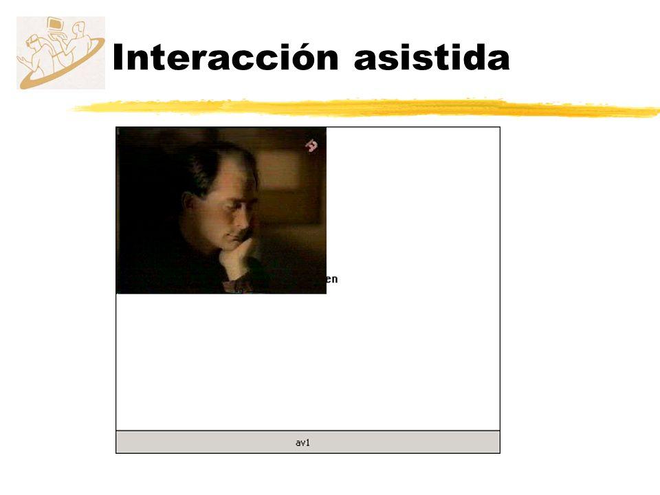 Interacción asistida