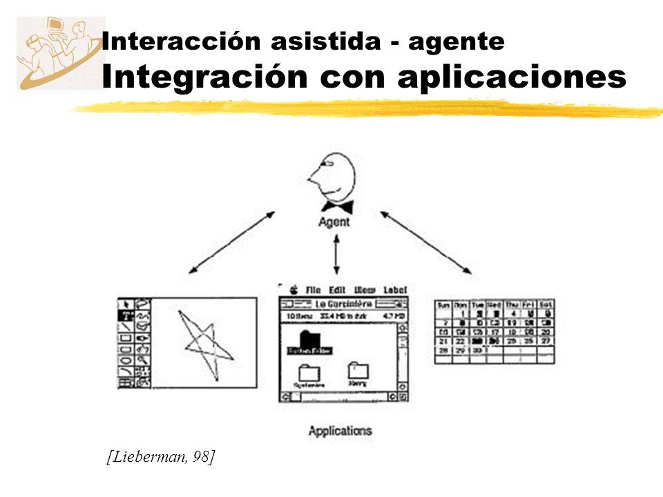Interacción asistida - agente Integración con aplicaciones
