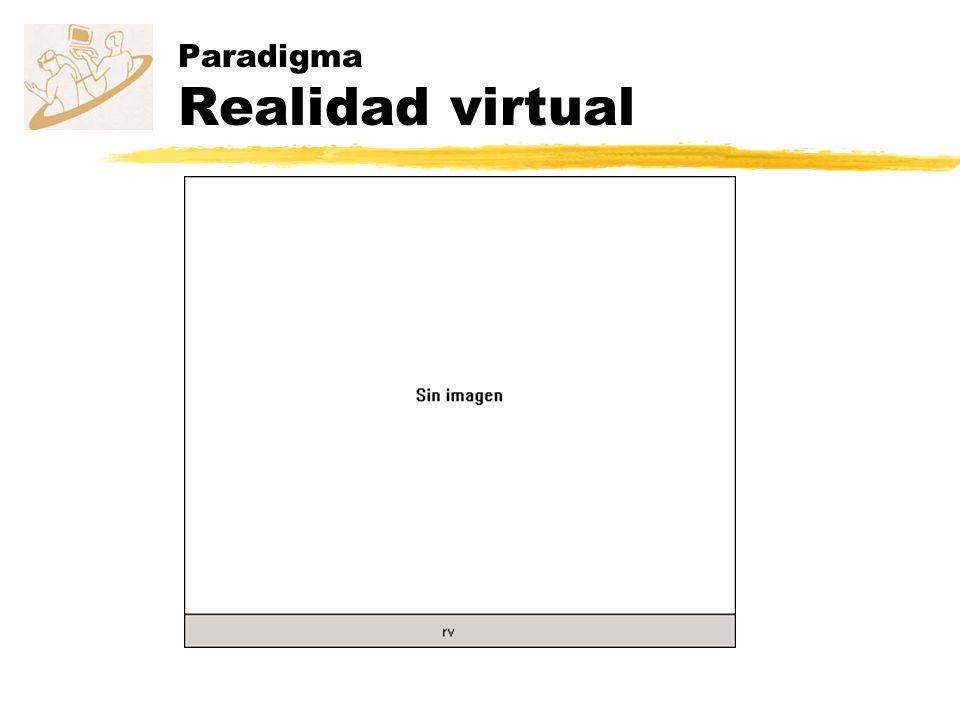 Paradigma Realidad virtual