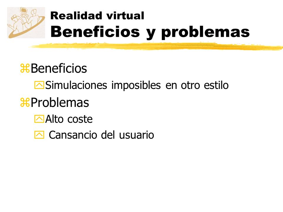 Realidad virtual Beneficios y problemas