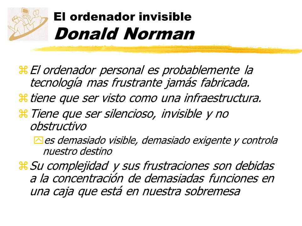 El ordenador invisible Donald Norman