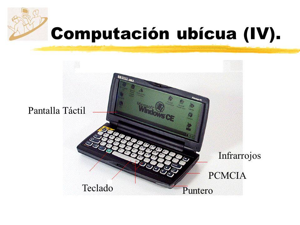 Computación ubícua (IV).