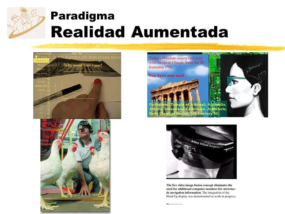 Paradigma Realidad Aumentada