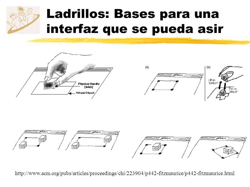 Ladrillos: Bases para una interfaz que se pueda asir