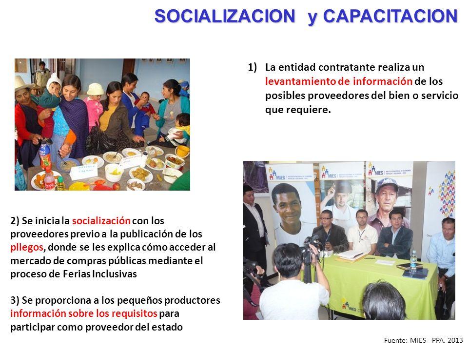 SOCIALIZACION y CAPACITACION