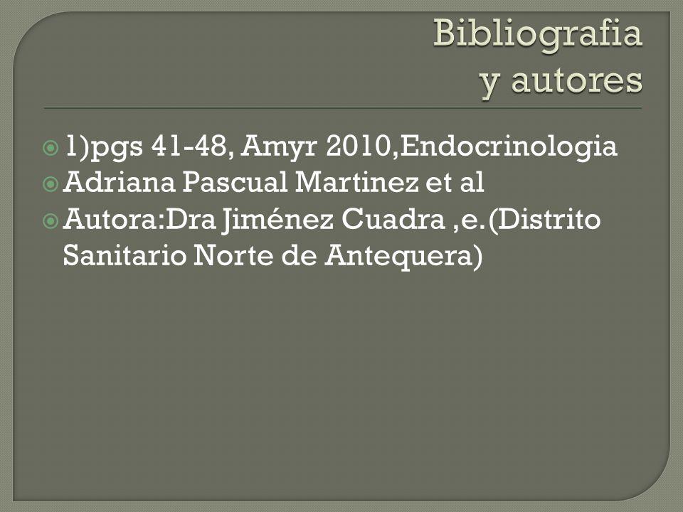 Bibliografia y autores