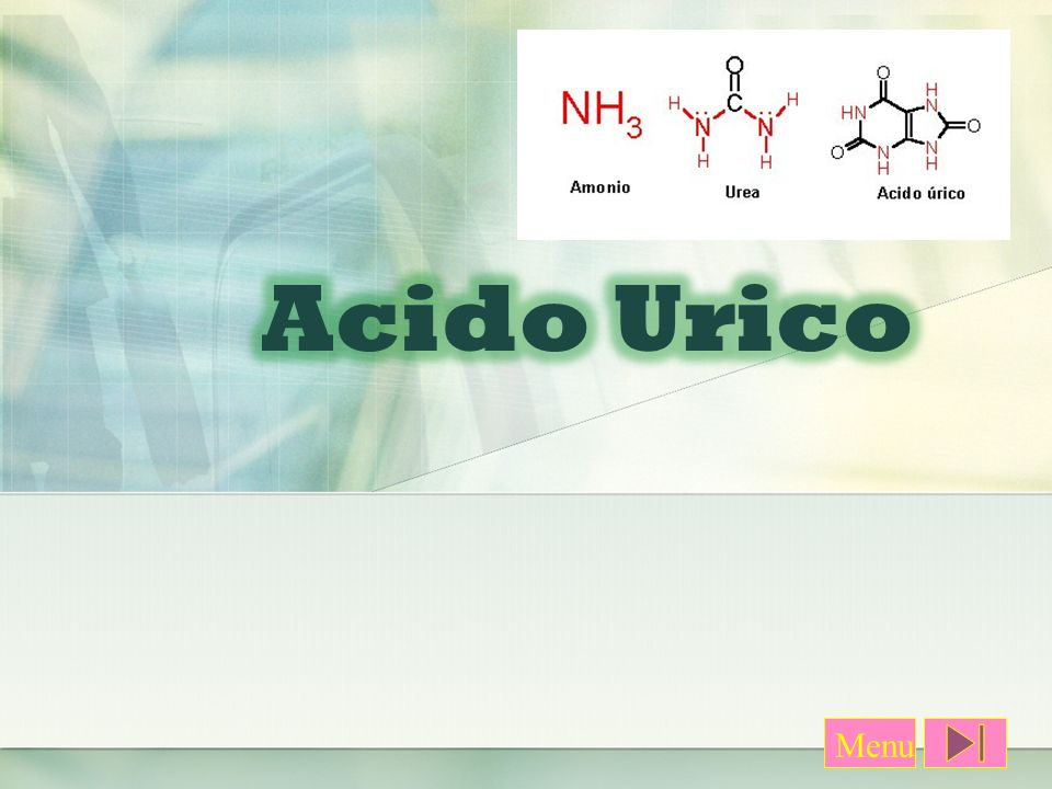 Acido Urico Los valores de normalidad de acido uricon en sagre varia en sagre varian en la poblacion de sexo y edad.