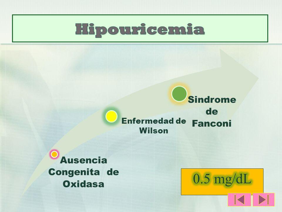 Ausencia Congenita de Oxidasa