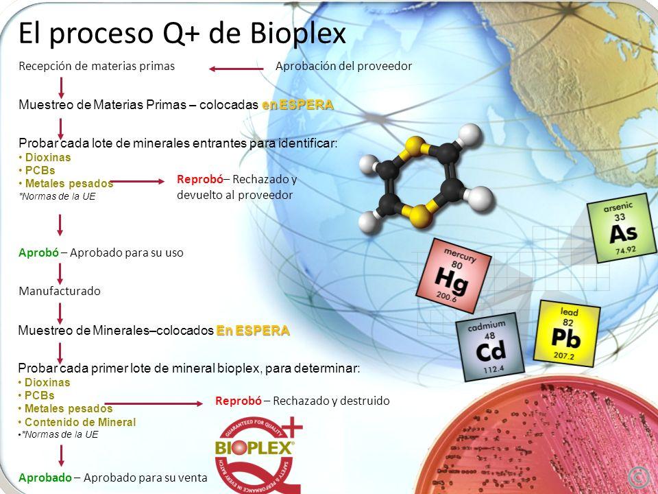 El proceso Q+ de Bioplex