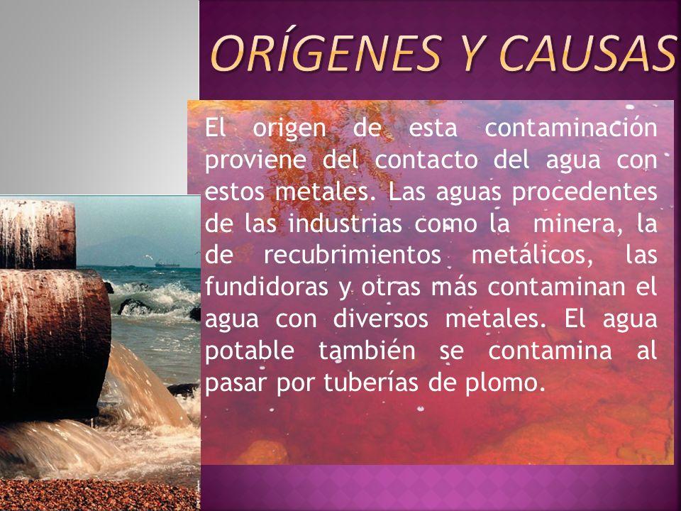 Orígenes Y causas