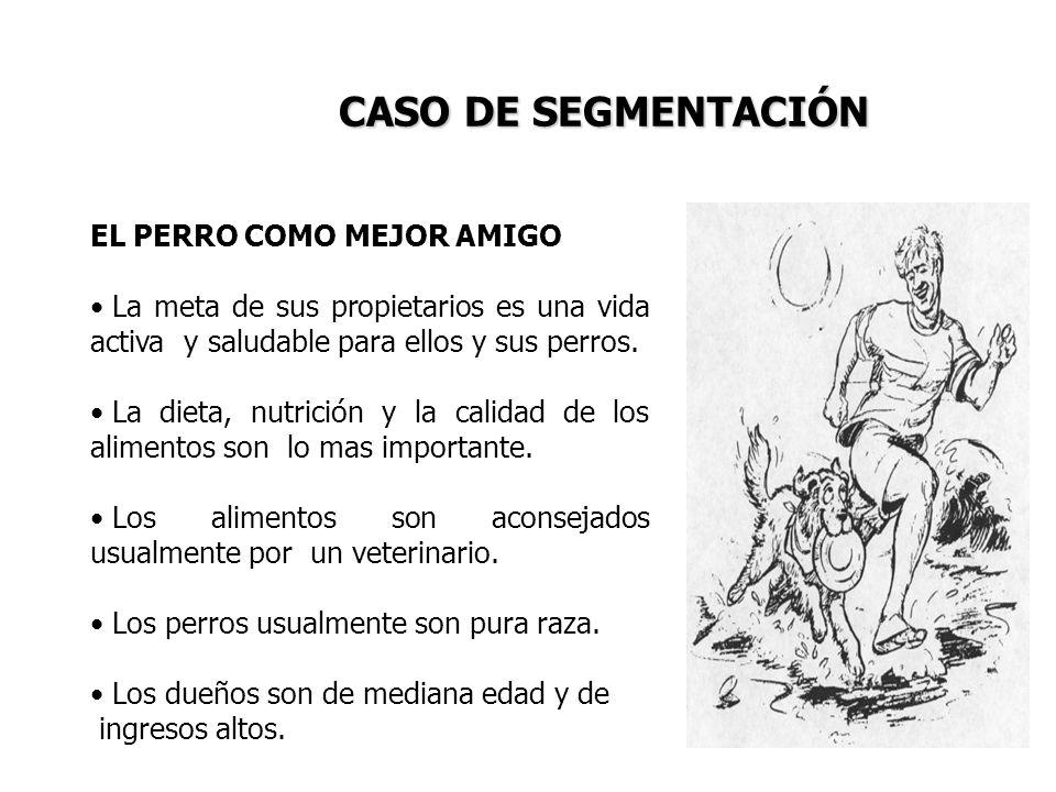CASO DE SEGMENTACIÓN EL PERRO COMO MEJOR AMIGO
