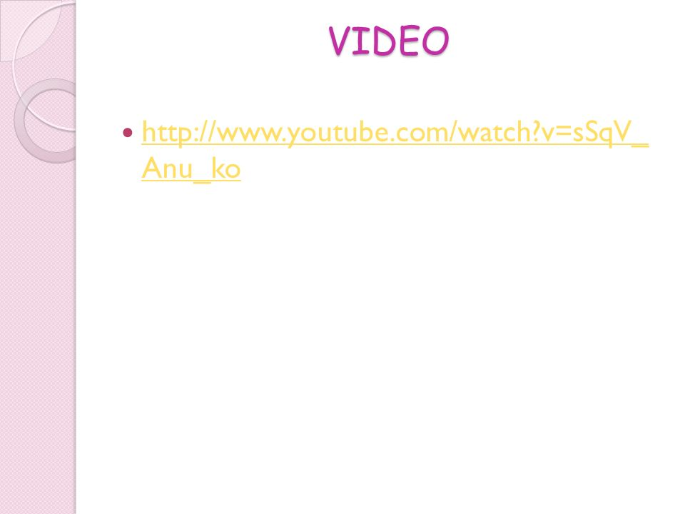 VIDEO http://www.youtube.com/watch v=sSqV_ Anu_ko