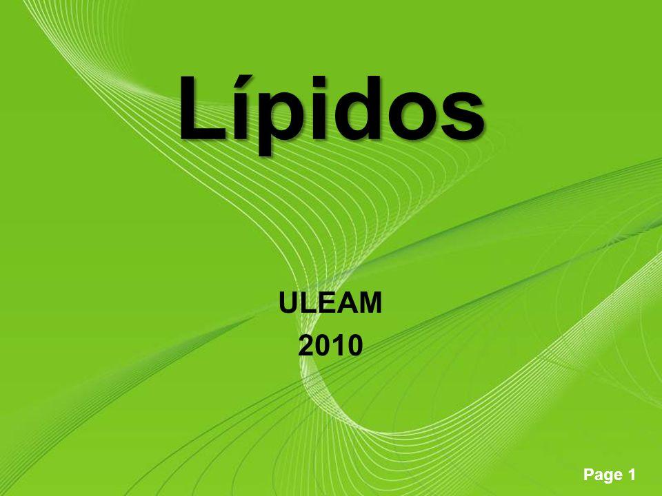 Lípidos ULEAM 2010