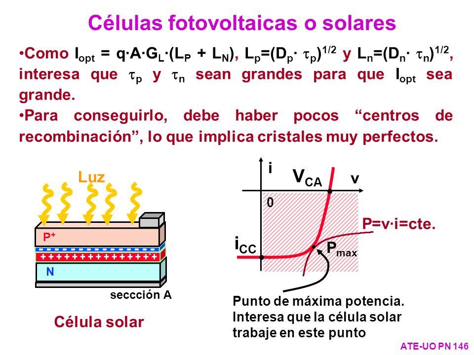 Células fotovoltaicas o solares