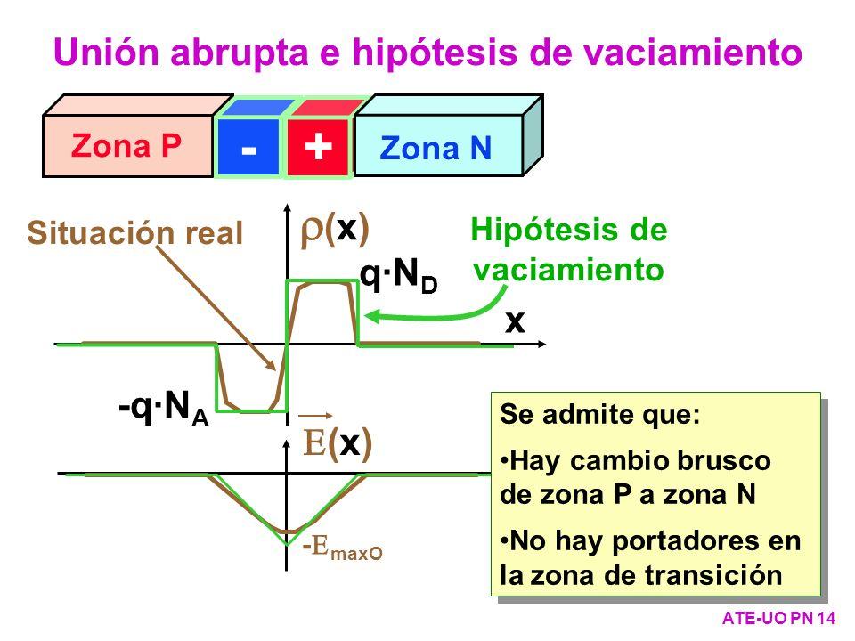 Unión abrupta e hipótesis de vaciamiento Hipótesis de vaciamiento