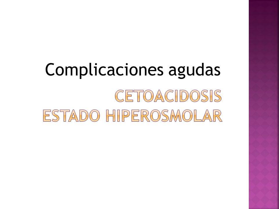 Cetoacidosis estado hiperosmolar