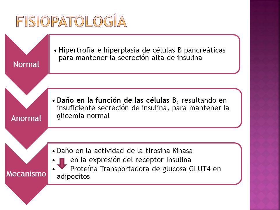 fisiopatología Normal Anormal Mecanismo