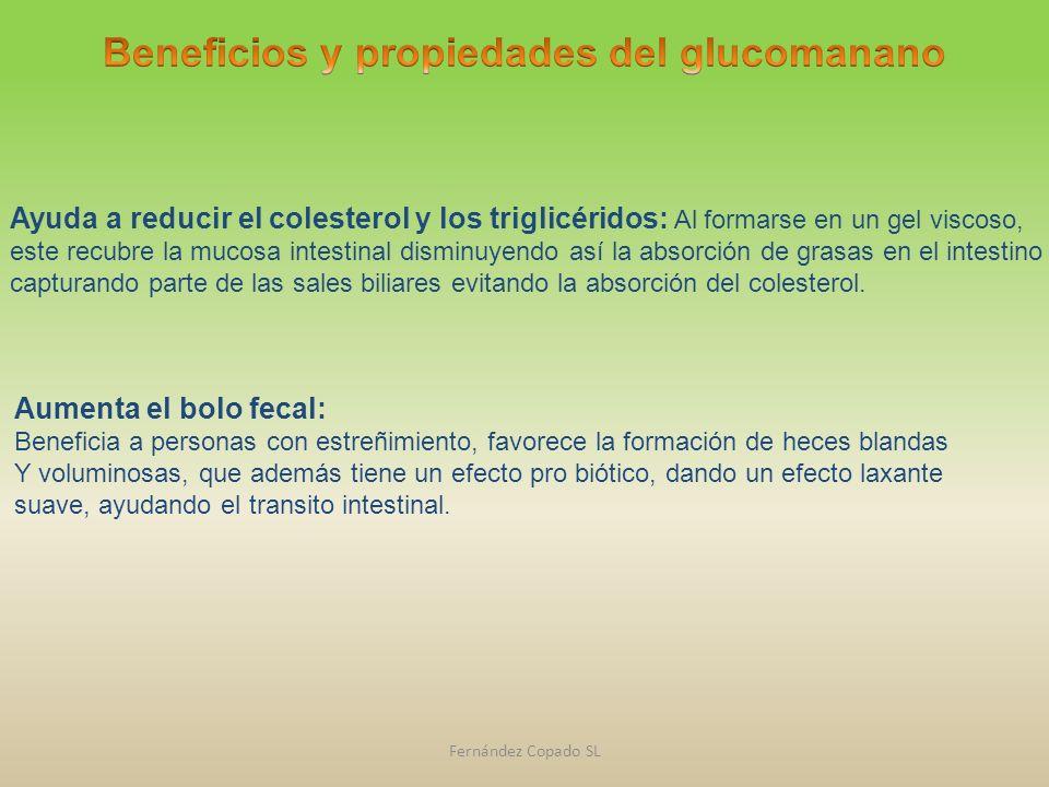 Beneficios y propiedades del glucomanano
