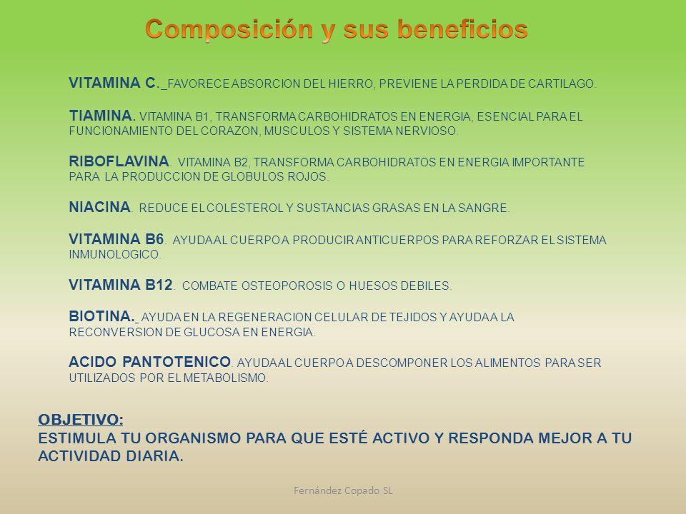 Composición y sus beneficios
