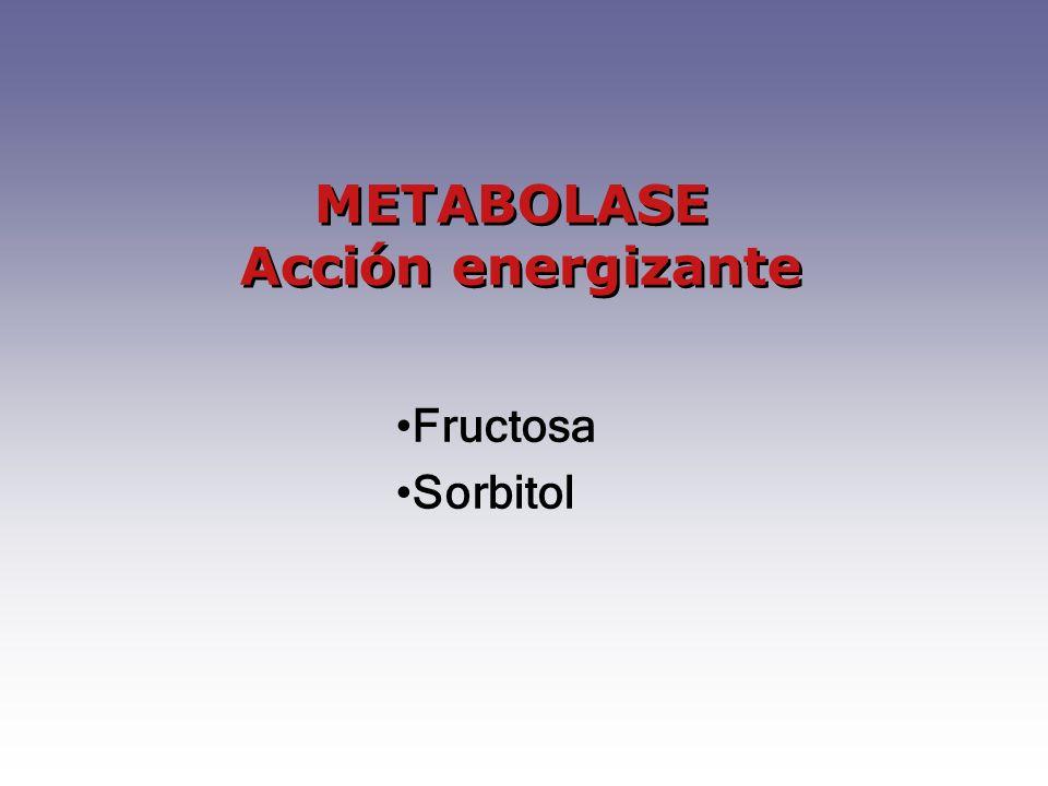 METABOLASE Acción energizante