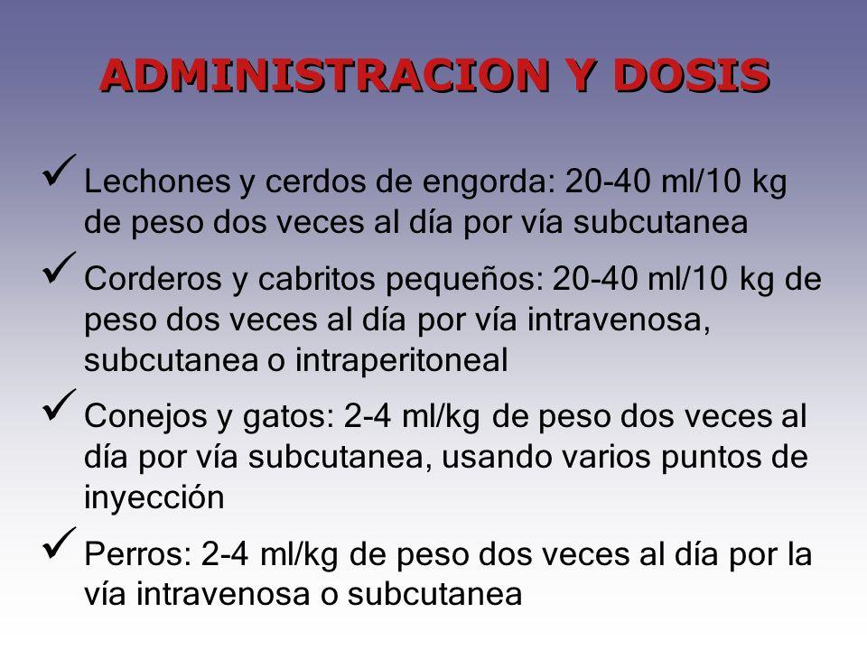 ADMINISTRACION Y DOSIS