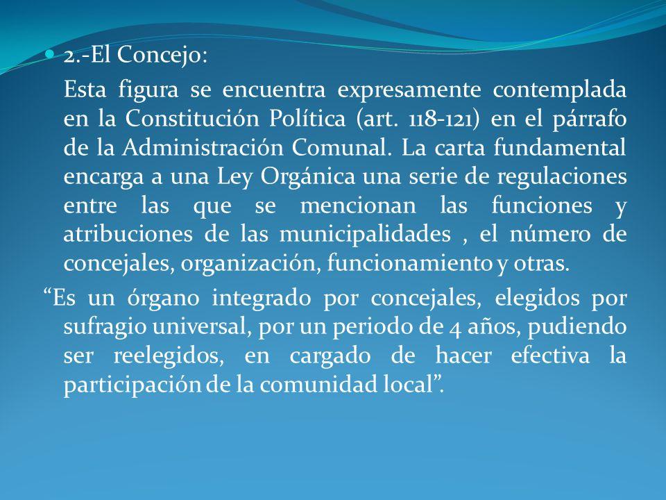 2.-El Concejo: