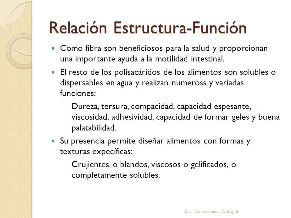 Relación Estructura-Función