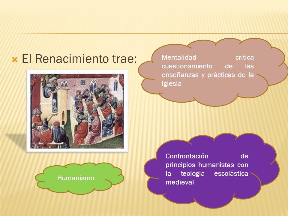 Mentalidad crítica cuestionamiento de las enseñanzas y prácticas de la Iglesia