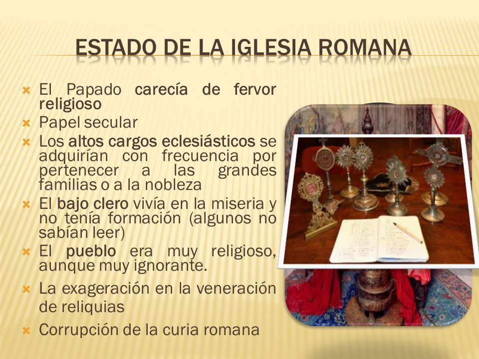 Estado de la Iglesia Romana