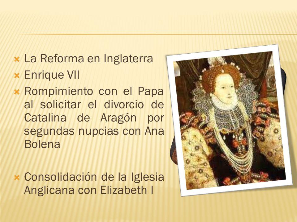 La Reforma en Inglaterra