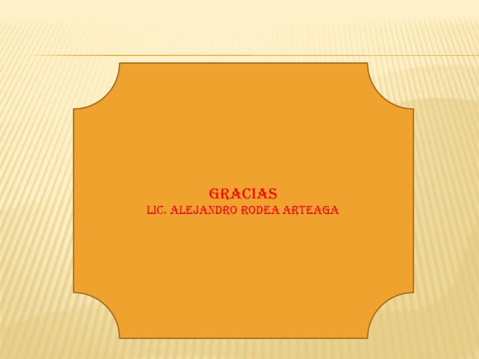 Lic. Alejandro Rodea Arteaga