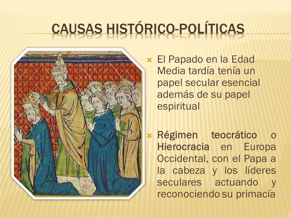 Causas histórico-políticas