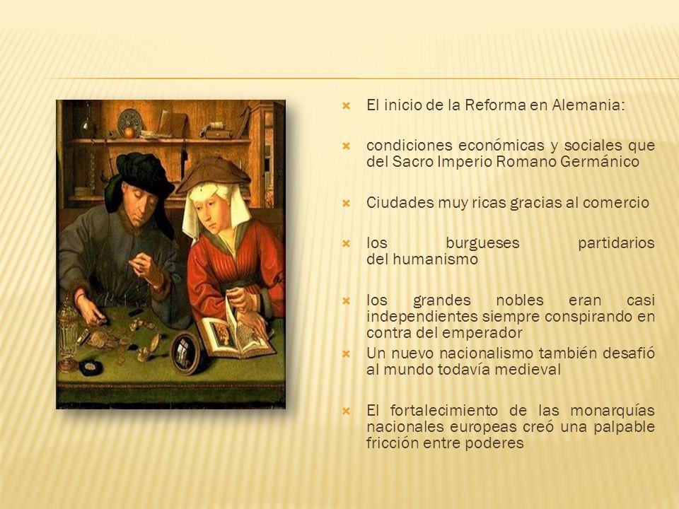 El inicio de la Reforma en Alemania: