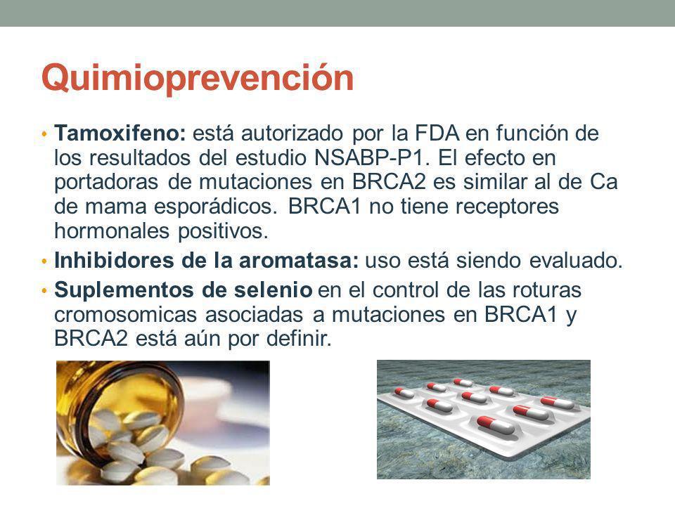 Quimioprevención