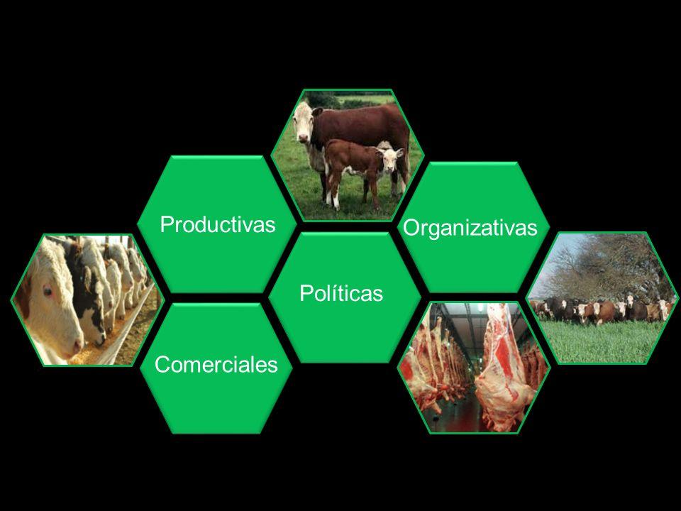 Productivas Organizativas Políticas Comerciales