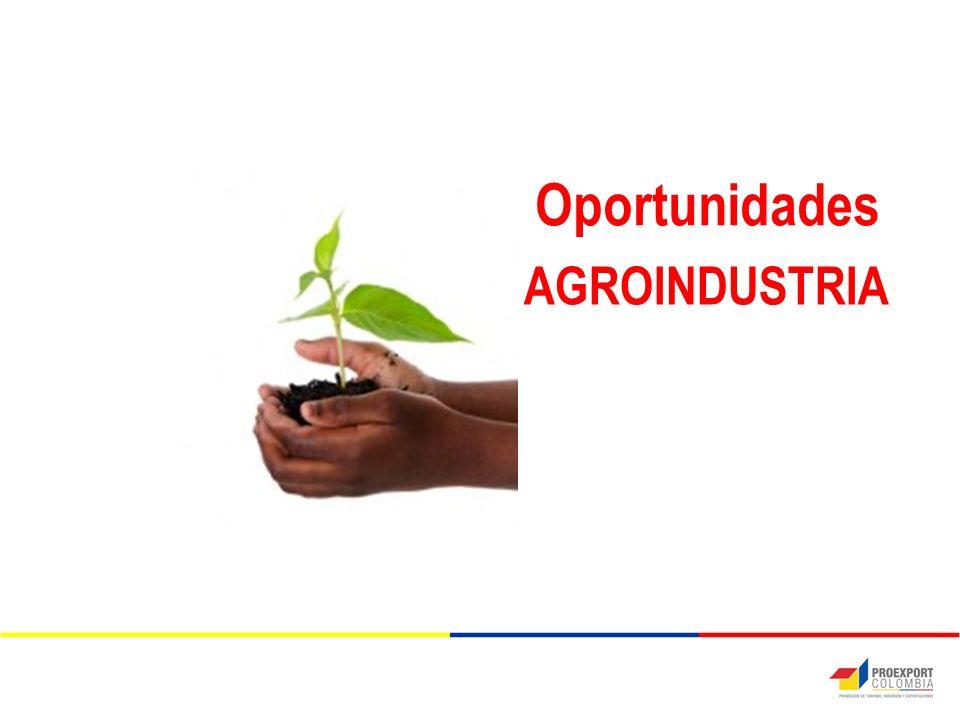 Oportunidades AGROINDUSTRIA