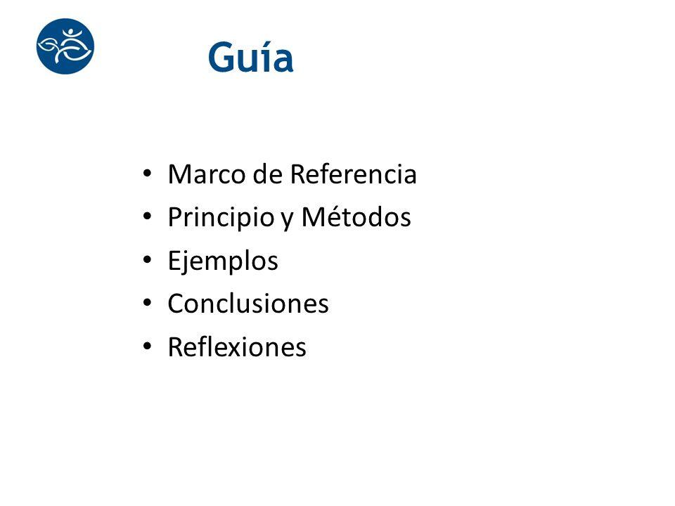 Guía Marco de Referencia Principio y Métodos Ejemplos Conclusiones