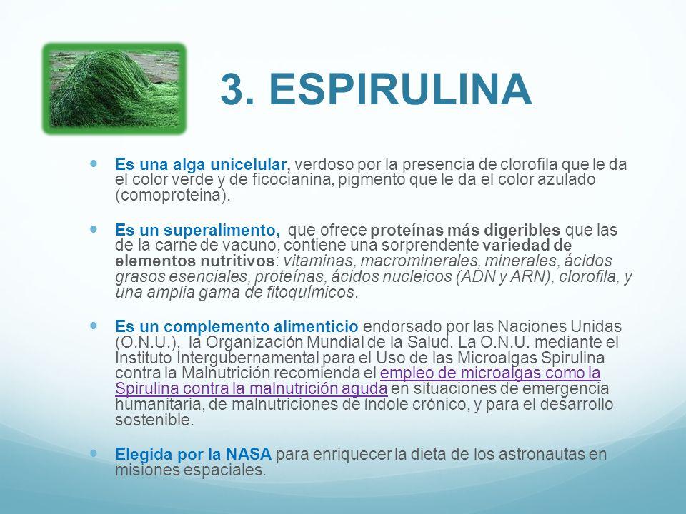 3. ESPIRULINA