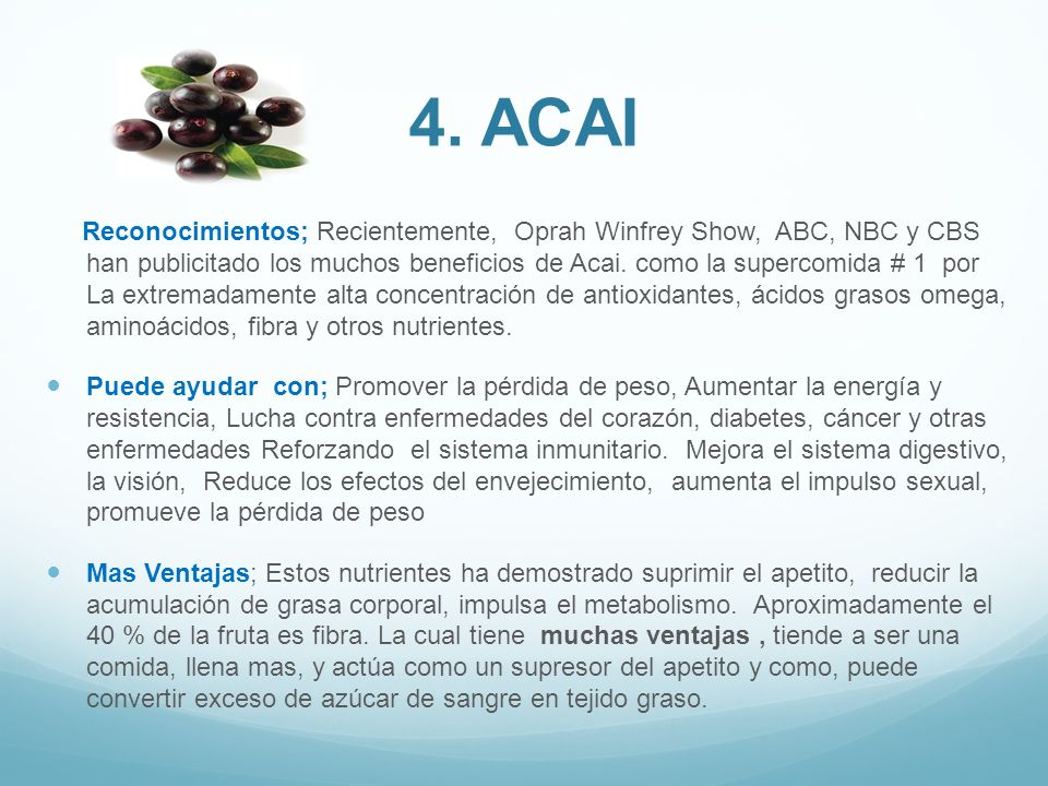 4. ACAI