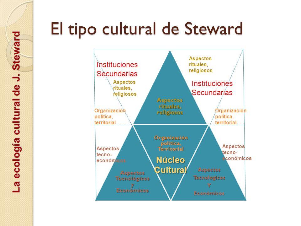 El tipo cultural de Steward