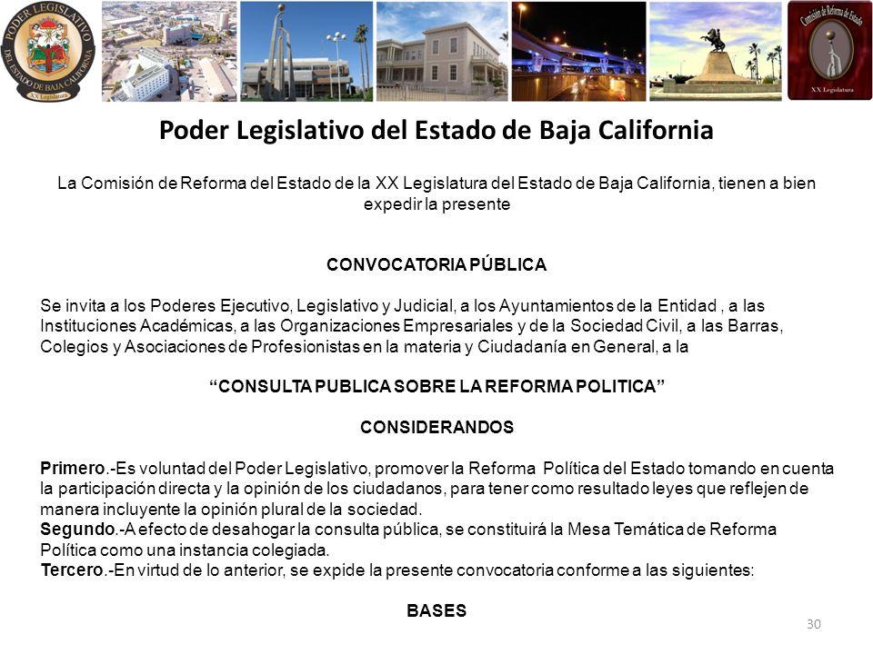 Poder Legislativo del Estado de Baja California