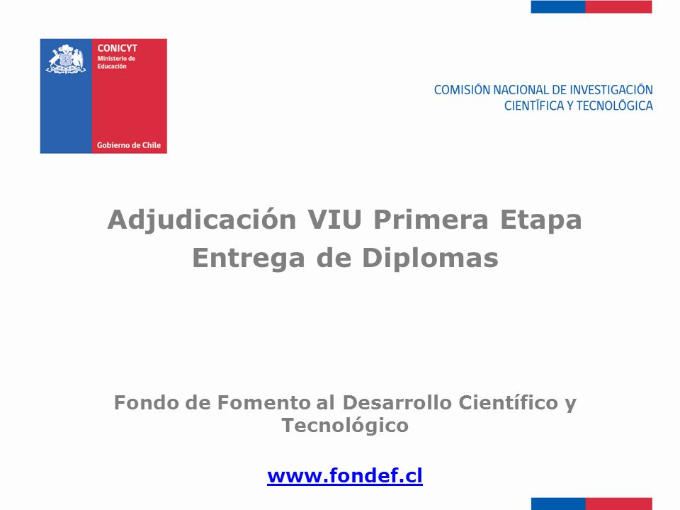 Adjudicación VIU Primera Etapa Entrega de Diplomas