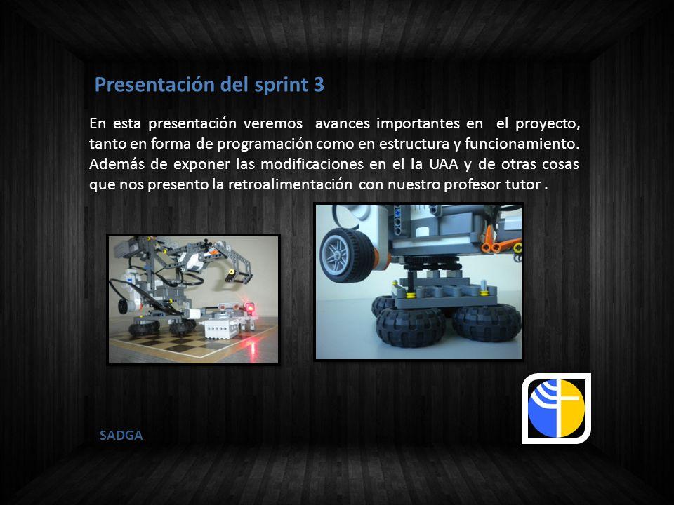 Presentación del sprint 3