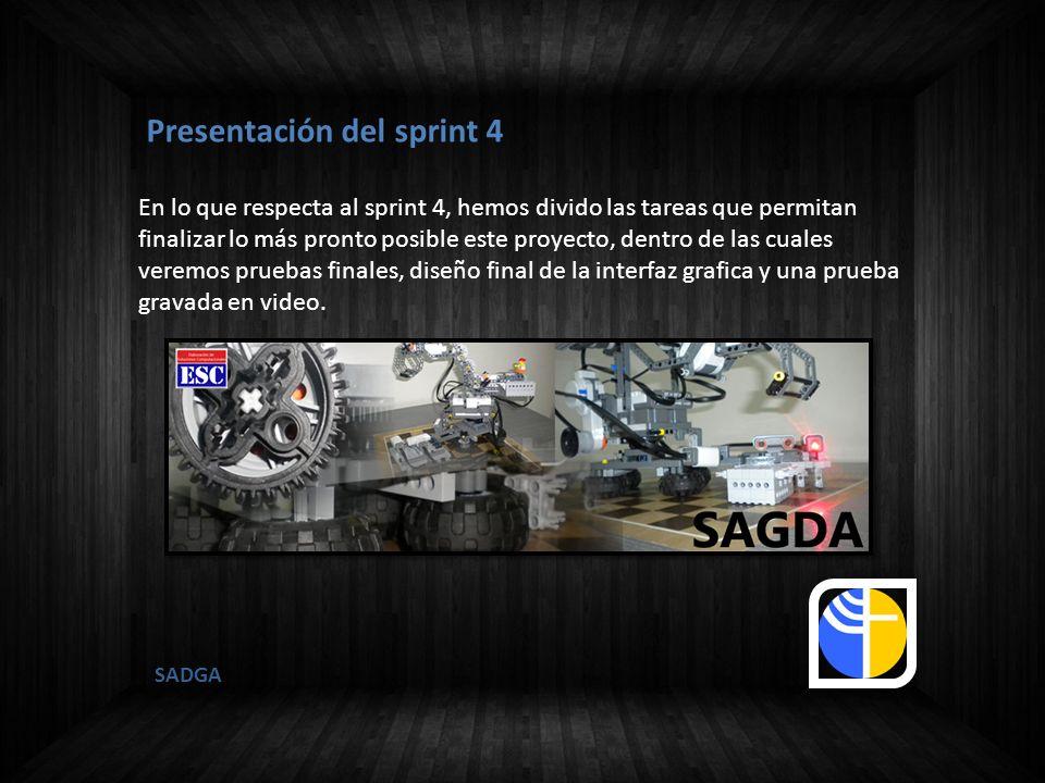 Presentación del sprint 4