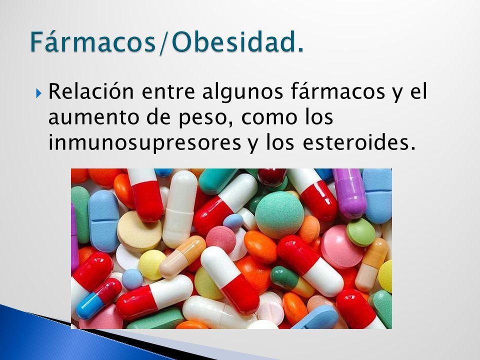 Fármacos/Obesidad.