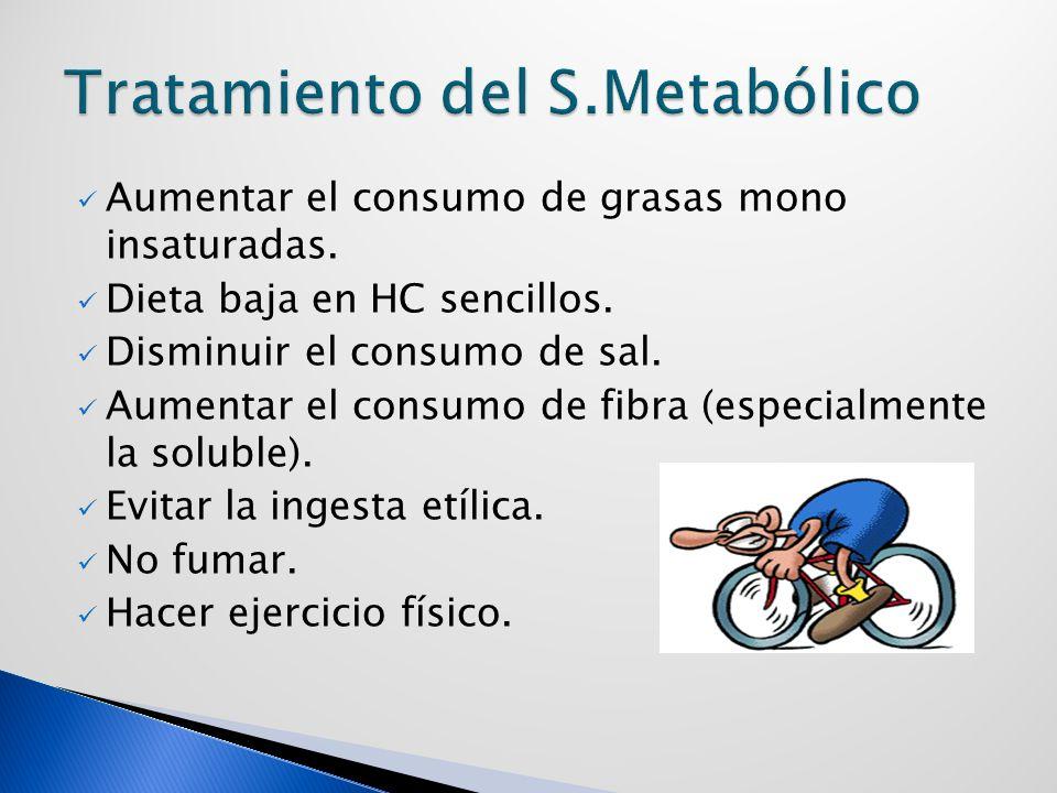 Tratamiento del S.Metabólico