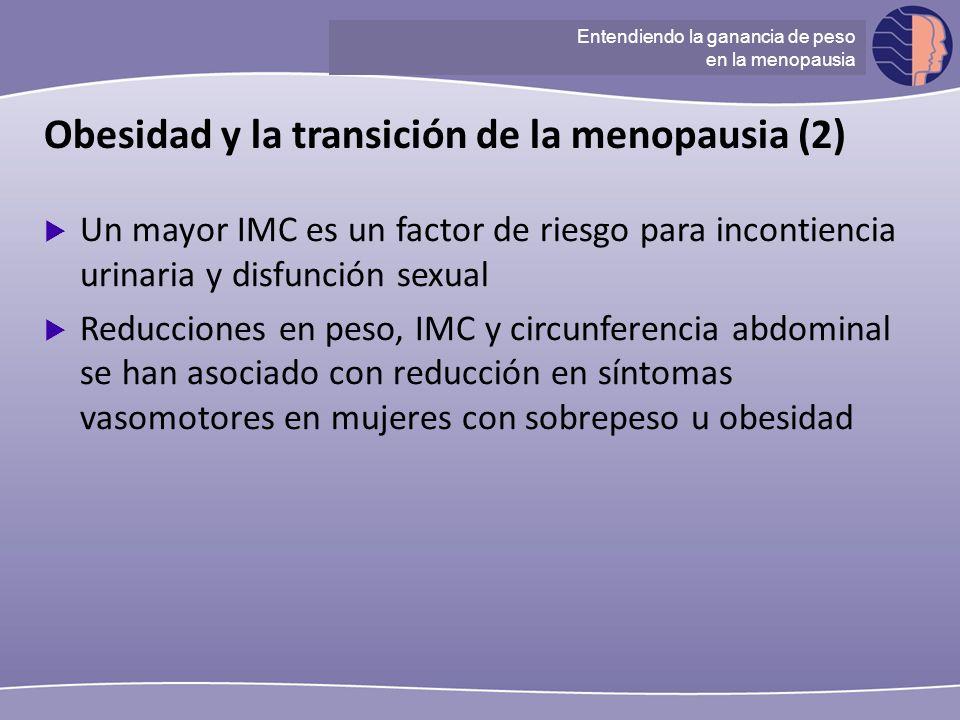 Obesidad y la transición de la menopausia (2)