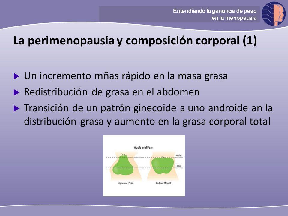 La perimenopausia y composición corporal (1)